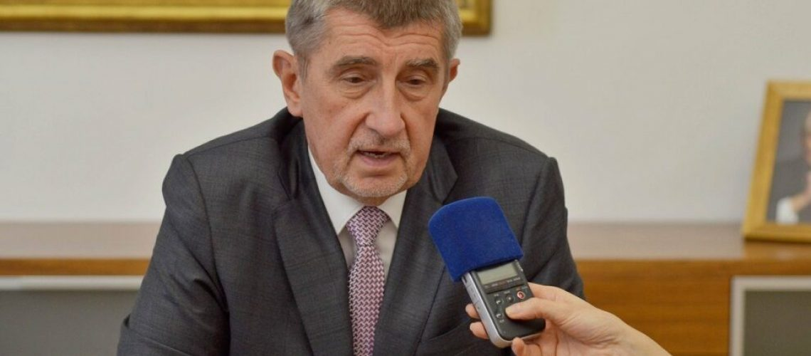 Andrej Babiš, premiér České republiky
